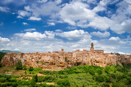 View of the Pitigliano, Italy photo