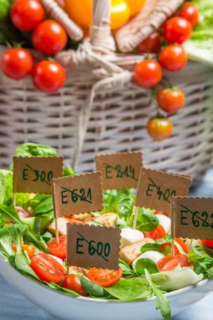 preservatives: Healthy salad with no preservatives