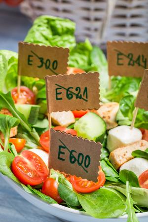 preservatives: Vegetable salad with no preservatives