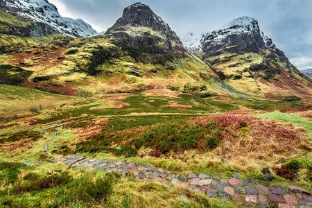 glencoe: Mountain in Glencoe, Scotland