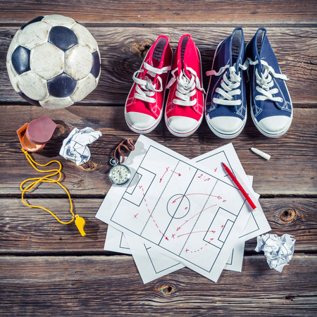 school playground: Plan to playing football in school