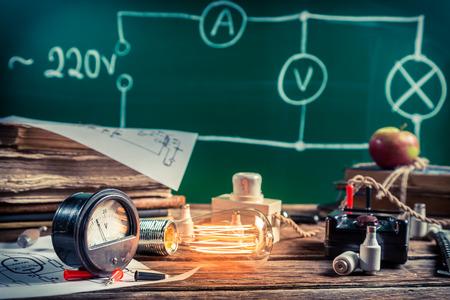 物理学実験における電気的経験