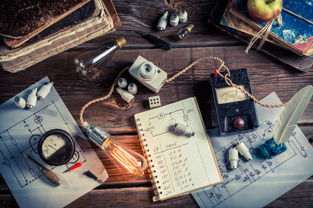 Vinateg 물리학 기술 전기의 실험실 스톡 콘텐츠
