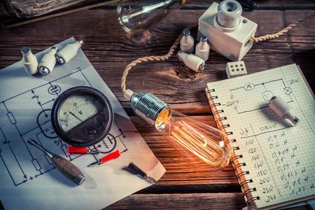 metro medir: La investigaci�n relacionada con la electricidad