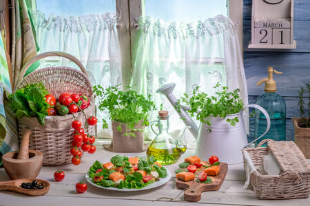 Enjoy your spring kitchen photo