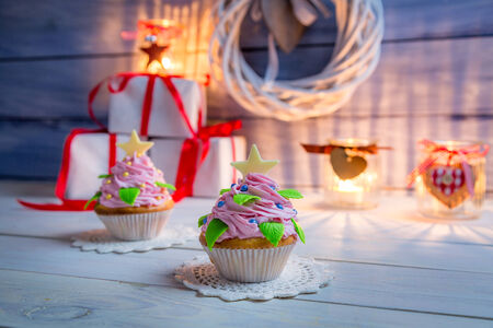 Enjoy your christmas cupcake photo