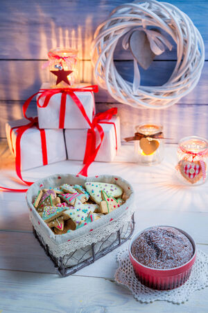 Gingerbread for Christmas photo