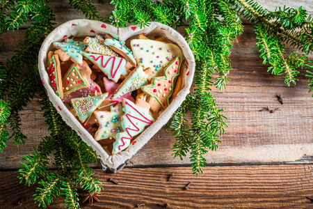 star anise christmas: Gingerbread cookies for Christmas in the heart