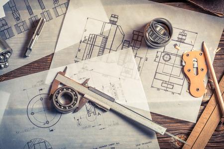 Development of mechanical schemes based on measurements photo