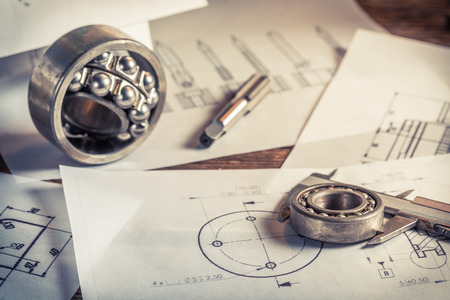 schemes: Measuring and comparing the results of the bearings with mechanical scheme