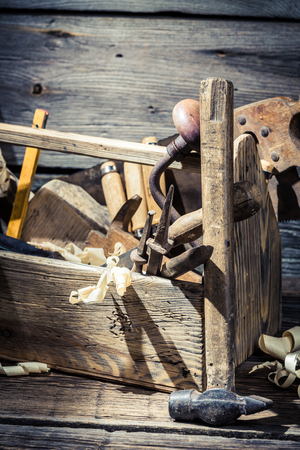 joinery: Wooden joinery tool box