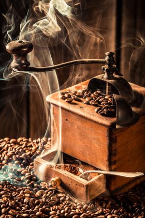 attar: roasted coffee seeds