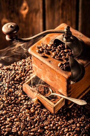 attar: fresh coffee grains
