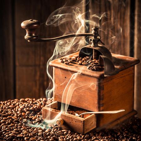 attar: roasted ground coffee