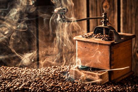 attar: fresh coffee beans Stock Photo