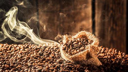 Attar: Coffee sack full of roasted seeds