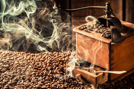 attar: roasted coffee beans