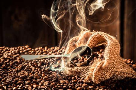 attar: Coffee bag full of roasted seeds