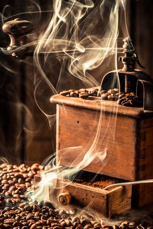 attar: Fragrance of fresh coffee seeds