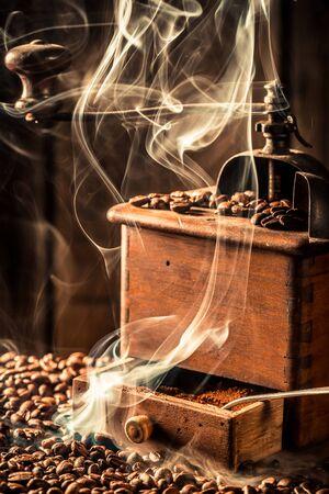 Attar: Fragrance of fresh coffee seeds