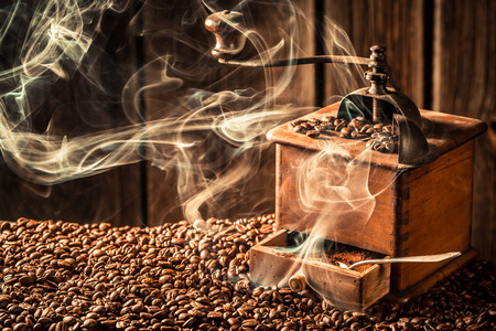 fresh taste: Taste of fresh coffee beans