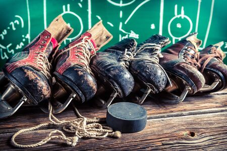 hockey skates: Ice hockey skates
