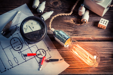 electric current: Physical experience of an electric current
