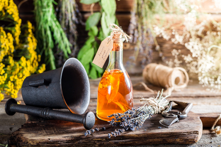 witchdoctor: Aromatic tincture as natural medicine