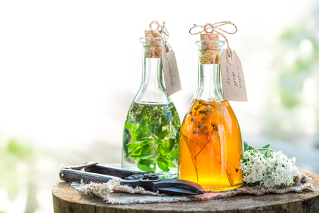 tincture: Homemade tincture as natural medicine