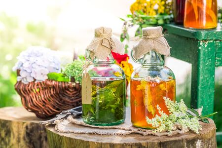witchdoctor: Healing tincture as homemade cure