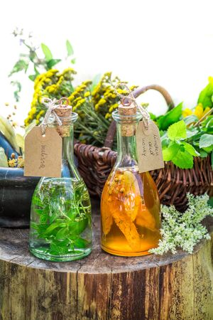 witchdoctor: Healthy tincture with alcohol and herbs