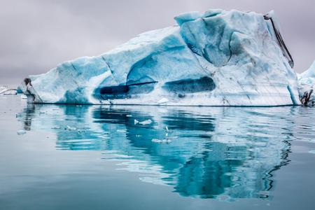 Stunning icebergs in Iceland