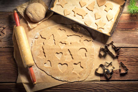 gingerbread cookies: Traditionally Christmas gingerbread cookies