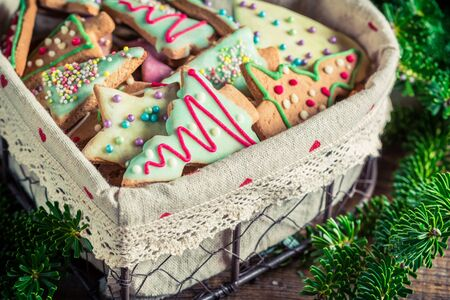 gingerbread cookies: Gingerbread cookies for Christmas in the heart