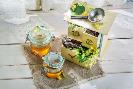tilo: la miel de tilo dulce