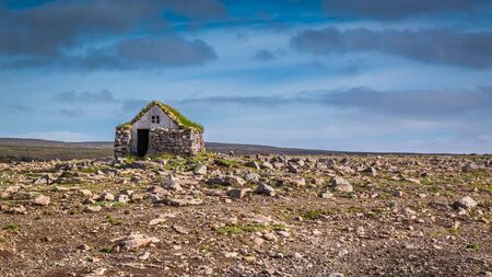 nowhere: Stone cottage on the middle of nowhere, Iceland