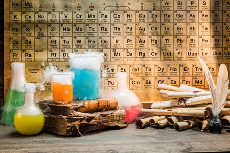 Researching new chemical reactions based on old recipes