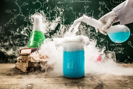practical: Practical chemical tests in school laboratory
