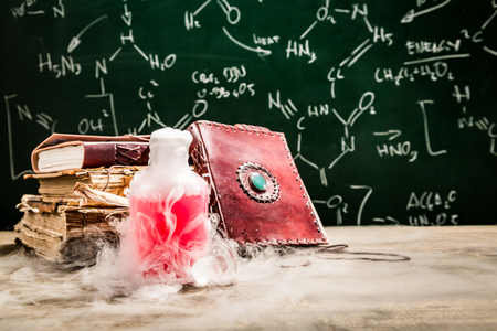 fumes: Magic potion created by chemistry
