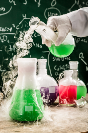 fume: Testing new chemical reactions in university lab