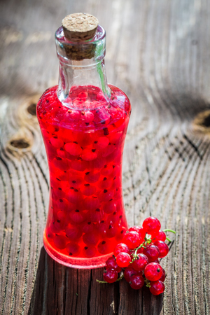 witchdoctor: Homemade liqueur made of alcohol and redcurrants