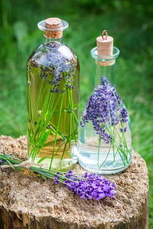 tincture: Homemade healthy tincture of lavender