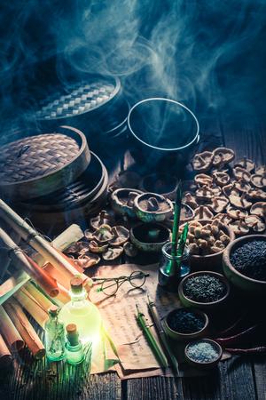 Op zoek naar umami-smaak in een magisch keukenlaboratorium