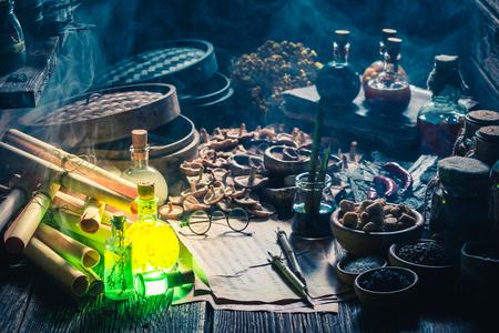Auf der Suche nach Umami-Geschmack im Vintage-Küchenlabor