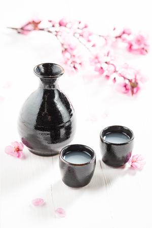 日本食レストランでおいしいと強い酒