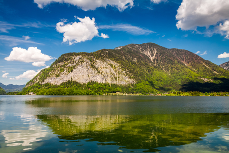 Mountain lake in Alps in summer, Austria, Europe