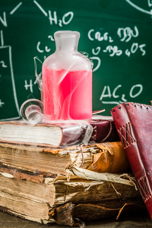 Search for the elixir of using chemistry in school laboratory