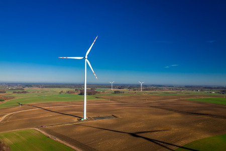 Flying above ecological wind turbines as pure energy