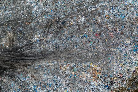 Décharge de déchets solides, vue aérienne. La pollution par les déchets.