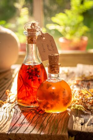 Homemade tincture as the perfect cold remedy
